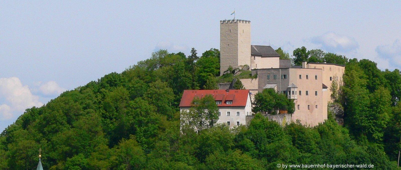 ausflugsziele bayerischer wald Sehenswuerdigkeiten Oberopfalz & Niederbayern