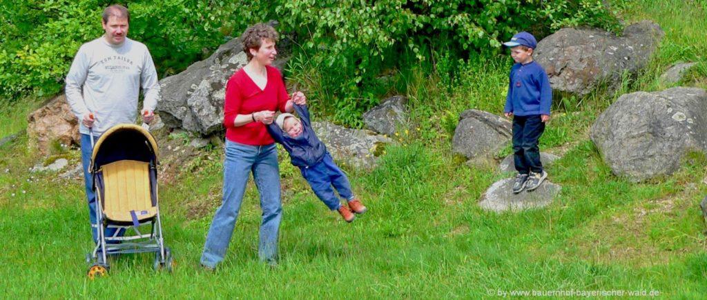 Kinderfreundliche Ferienwohnungen im Bayerischen Wald