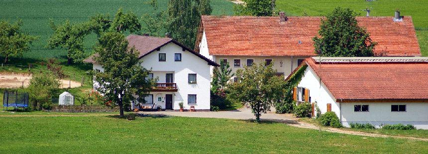 Deutschland Urlaub im Ferienhaus 8 Personen am Bauernhof in Bayern