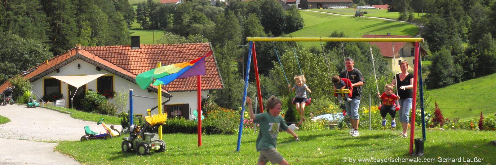 Familienurlaub Angebote für Bauernhofurlaub Bayerischer Wald