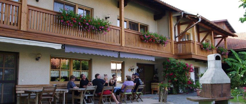 Bauernhofferien mit Frühstück am Lugerhof Hausansicht