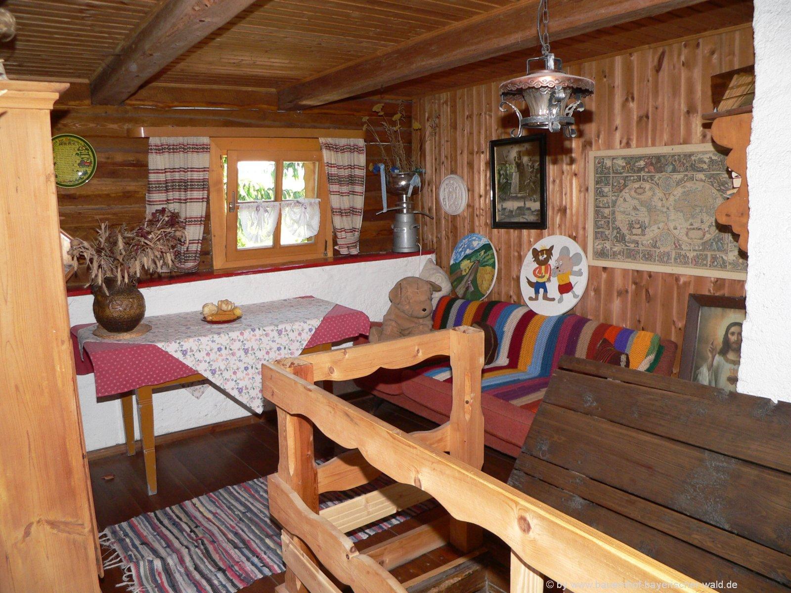 Ferienhaus im Bayerischen Wald Ferienhäuser auf dem Bauernhof Bayern