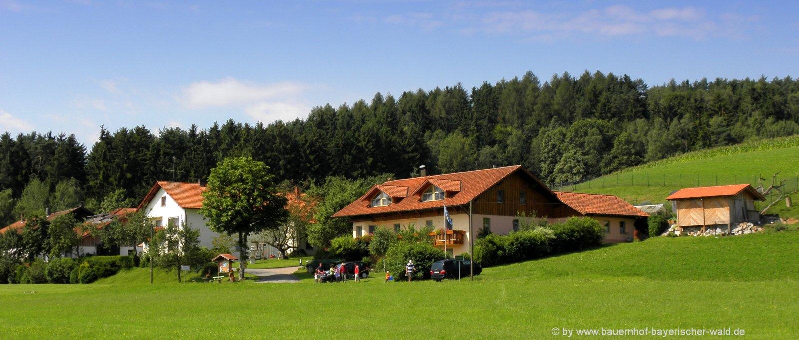 Bayerischer Wald Erlebnisbauernhof für Kinder
